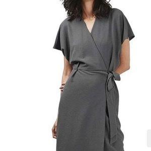 Topshop Dresses - Topshop crepe wrap dress